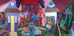 """""""Front Porches"""" by Sharika Mahdi"""