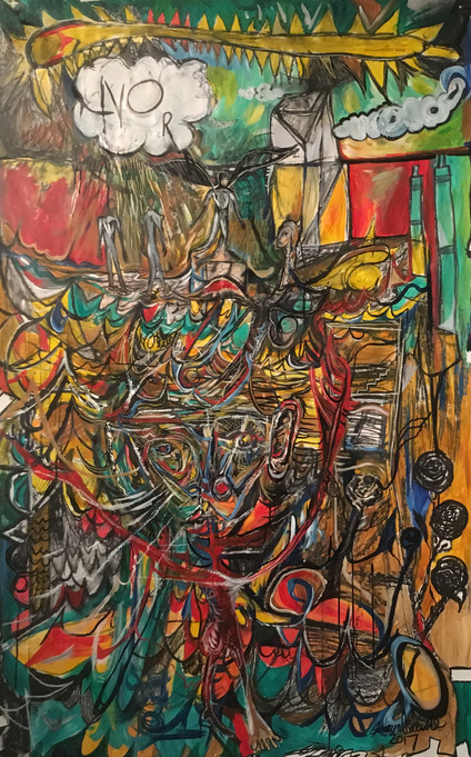 Expressionistic Diptych, Pt I