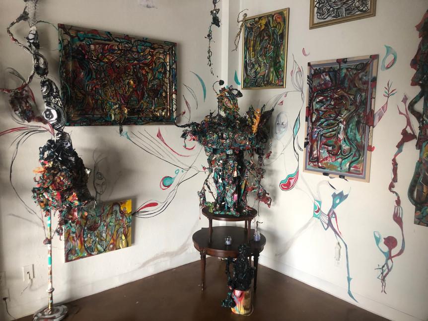 ge.Cali Studio Gallery Installation