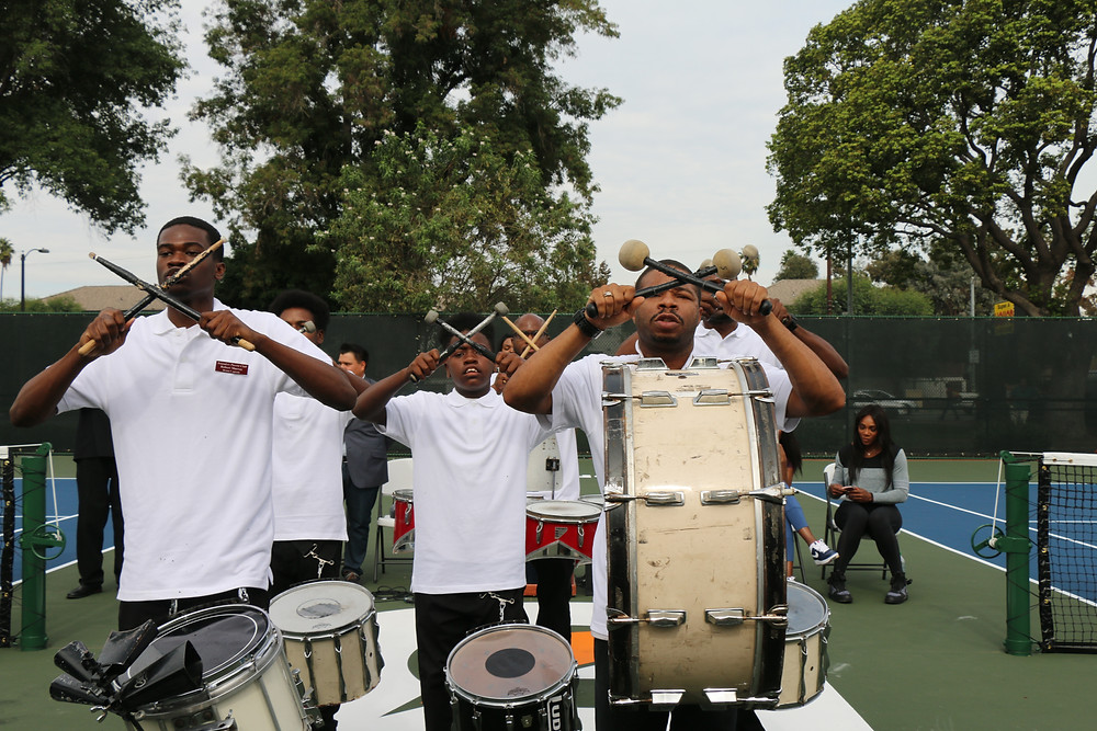 Compton Sounders drum squad (Photo by: Demetra Lee)