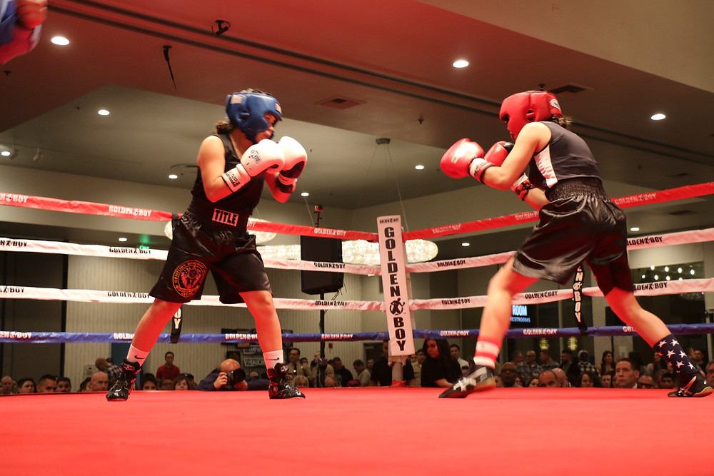 Boxing participants (Pictured By: Keith McCalebb)