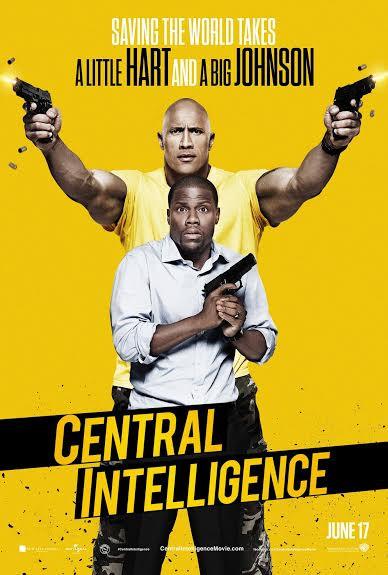 Central Intelligence Flyer