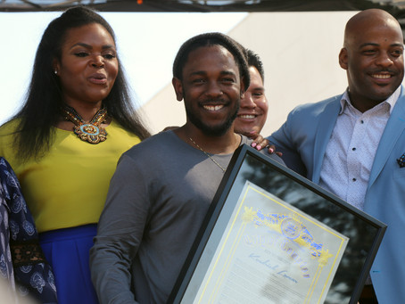Kendrick Lamar Receives the Key to His City