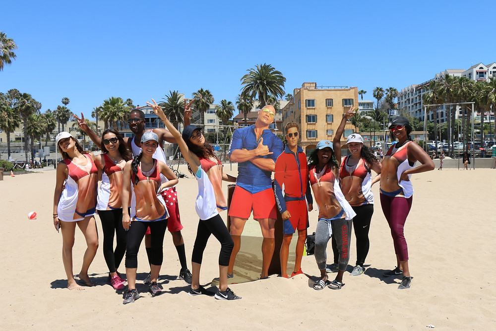 Baywatch Beach Body Workout hosted by celebrity trainer Ca'Shawn Sims Photo By: Keith McCalebb II