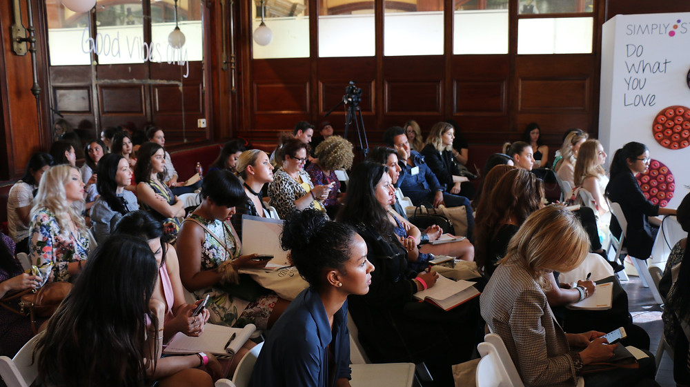 Simply Stylist attendees learning valuable information during the conference. Photo by Thai Lee