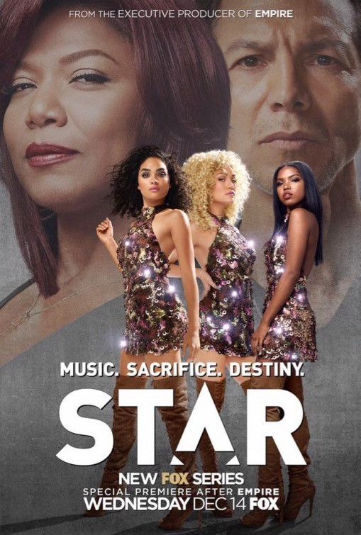 STAR: Benjamin Bratt, Queen Latifah, Ryan Destiny, Jude Demorest, and Brittany O'Grady in Star (2016)