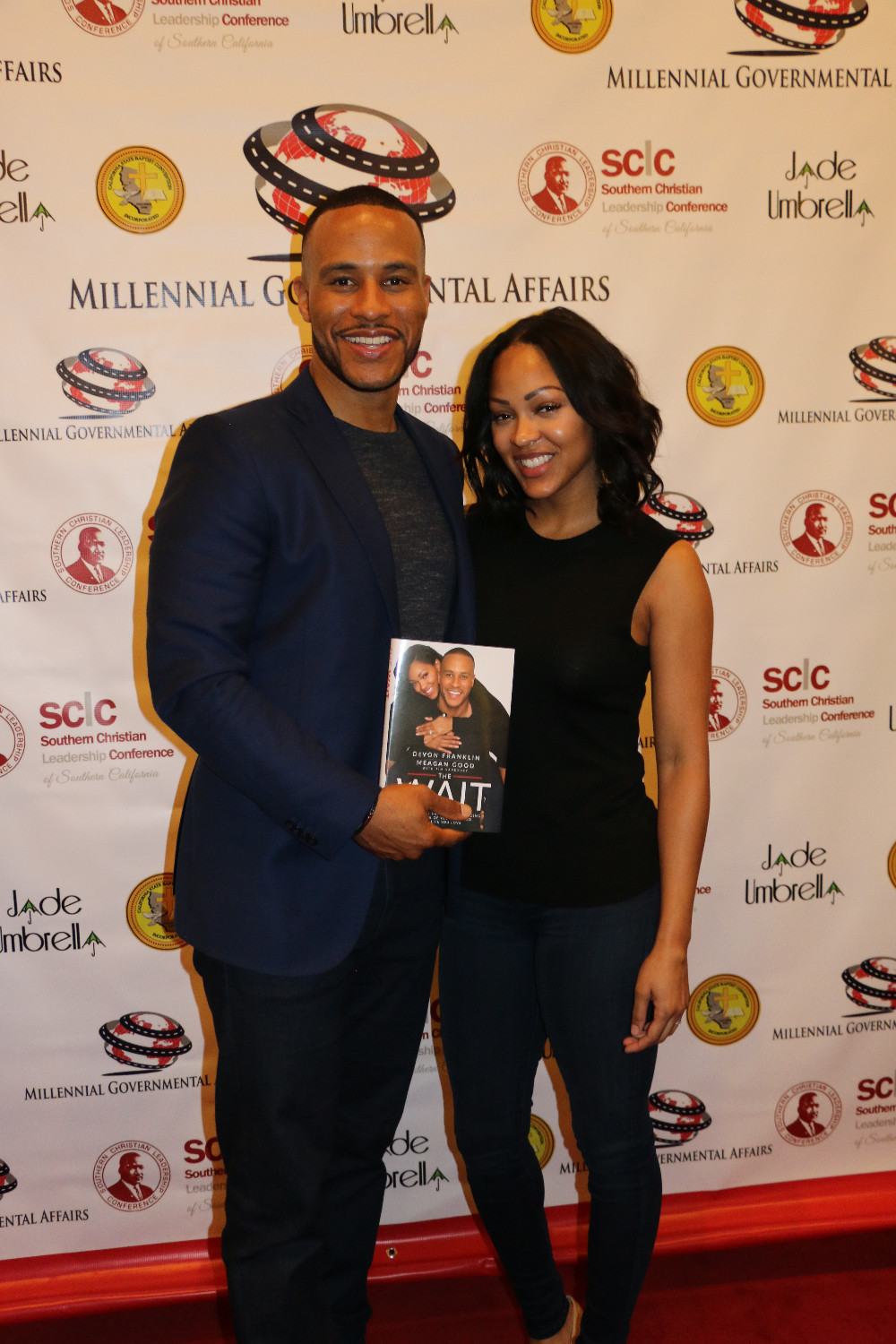 DeVon Franklin and Meagan Good-Franklin Photo by: Thai Lee