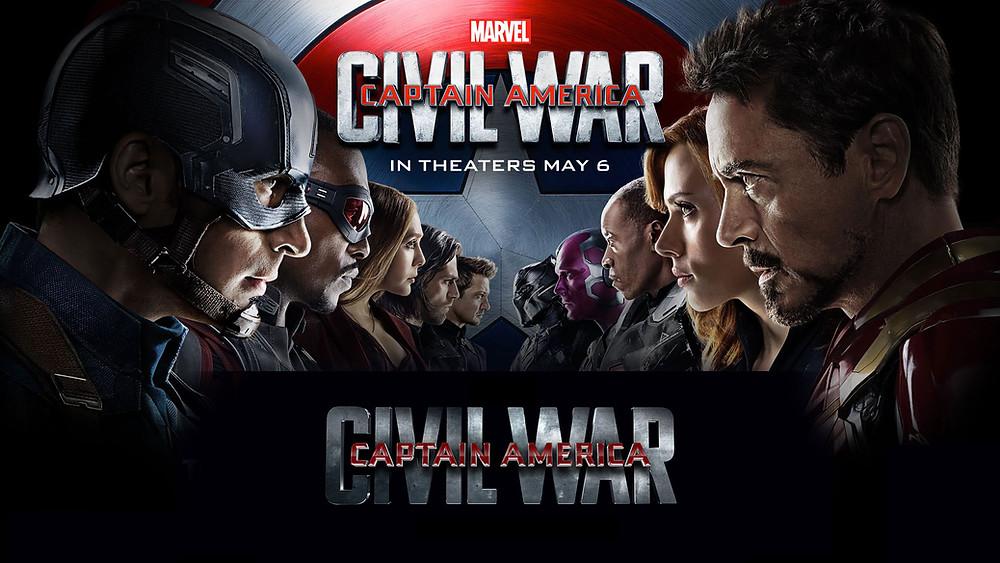 Marvel's Captain America Civil War Flyer
