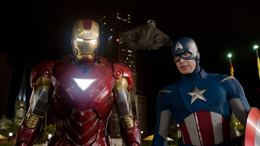Captain America and Iron Man (Avengers Movie)