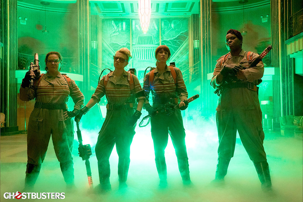 GHOSTBUSTERS in theaters July 15, 2016