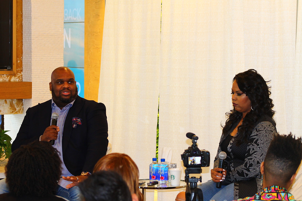 Pastor John Gray and his wife, Aventer (Photo by: Keith McCallebb II)