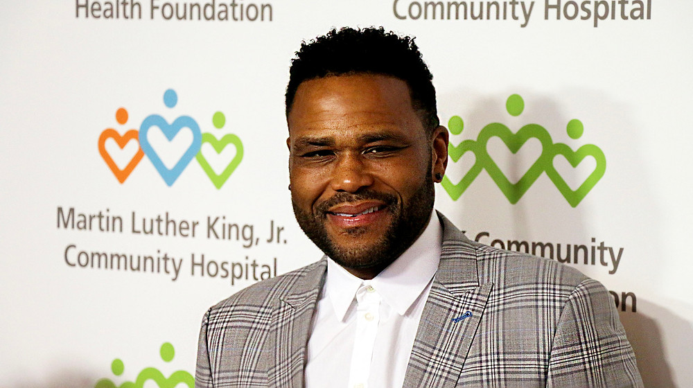 Anthony Anderson, Master of Ceremonies (Photo By: Thai Lee)