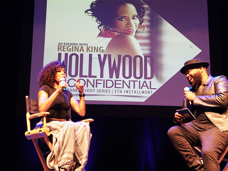 """Regina King Presented with """"ICON Award"""" at The Hollywood Confidential"""