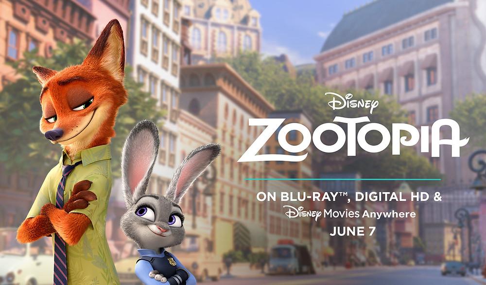 Disney's Zootopia comes to DVD June 7