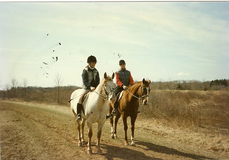 Polly and Pat Wells Hunter Pace 19920001