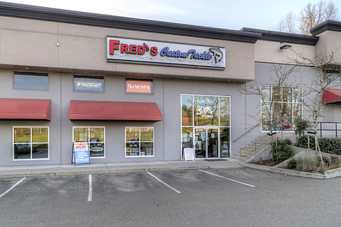 Freds Custom Tackle Abbotsford Store