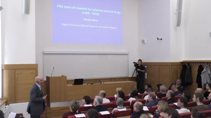 Fifty years of research for selective antiviral drugs (1968 – 2018) , a lecture at IOCB in Prague