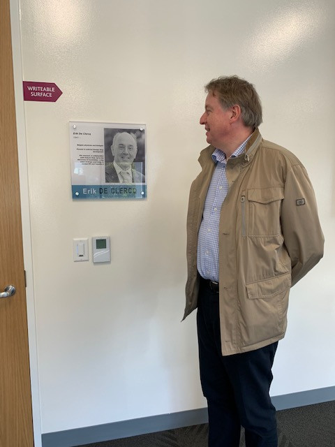 The naming of a conference room in Gilead's headquarters
