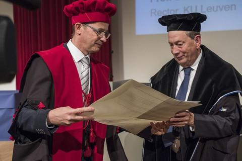 Honorary Doctorate of Dr. John C. Martin  (September 13th, 2017)