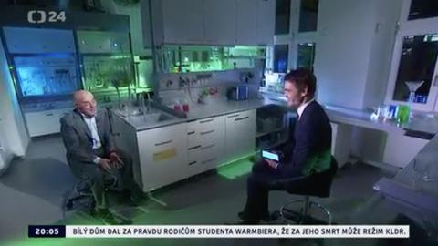Czech Television interview with Daniel Stach for the program Hyde Park Civilization