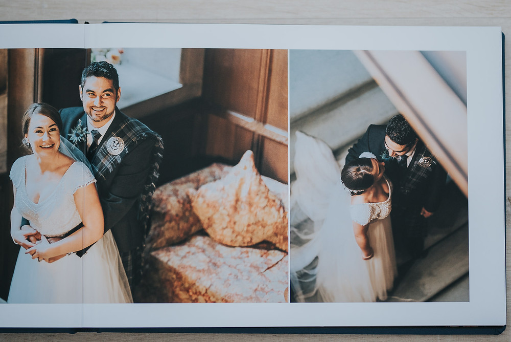 Alison & Hussain's album from their wedding at Rowallan Castle, wedding photographer, photography, Glasgow, Edinburgh, Scotland, Karol Makula Photography.