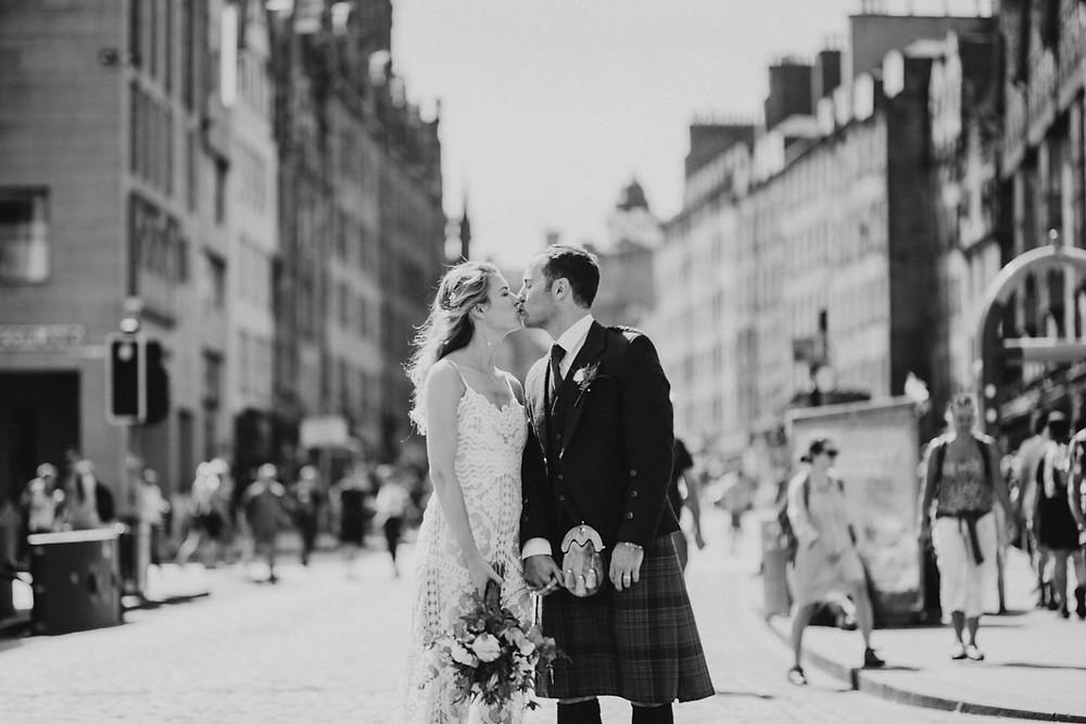 Royal Mile, wedding photographer Edinburgh, Glasgow, Scotland, Karol Makula Photography