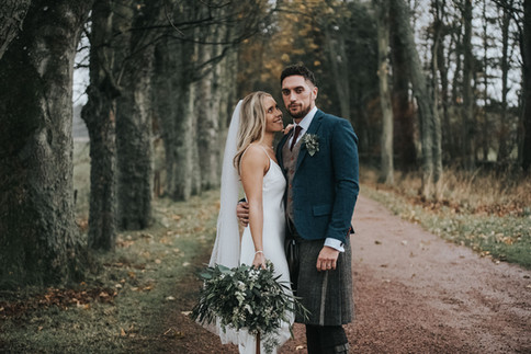 Laura + Aaron // Kinkell Byre