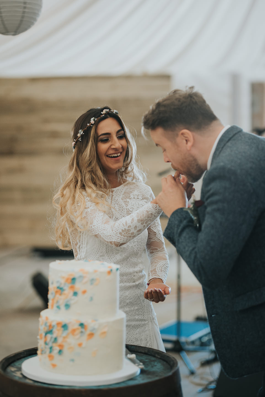 Konul & Jordan's sneak peek from their wedding at The Cow Shed Crail, wedding photographer Edinburgh, Glasgow, Scotland, Karol Makula Photography