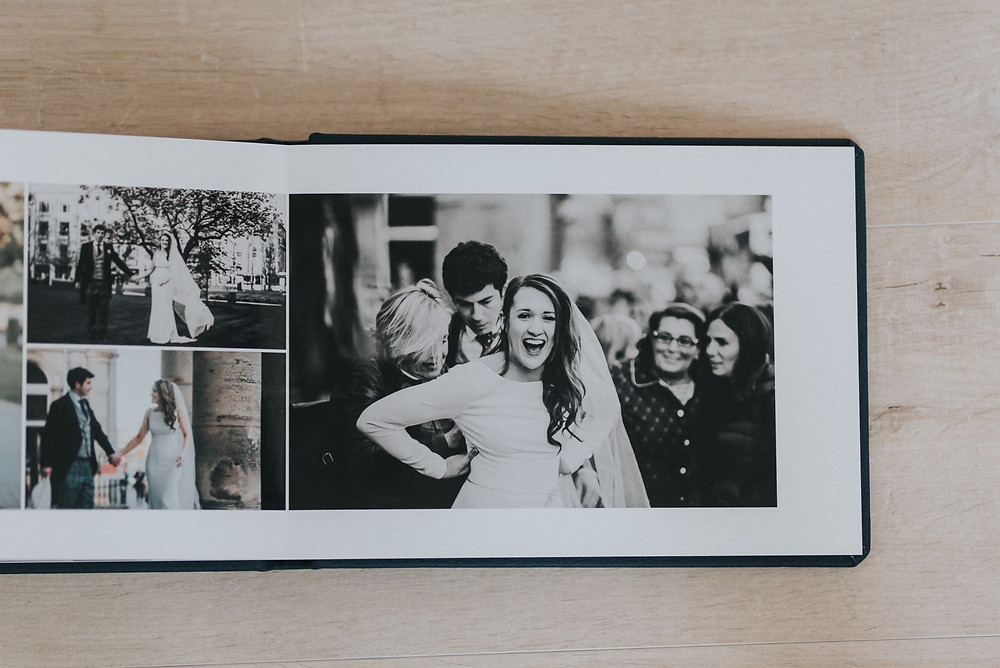 The Principal Edinburgh wedding album, wedding photographer Edinburgh, Scotland, Glasgow