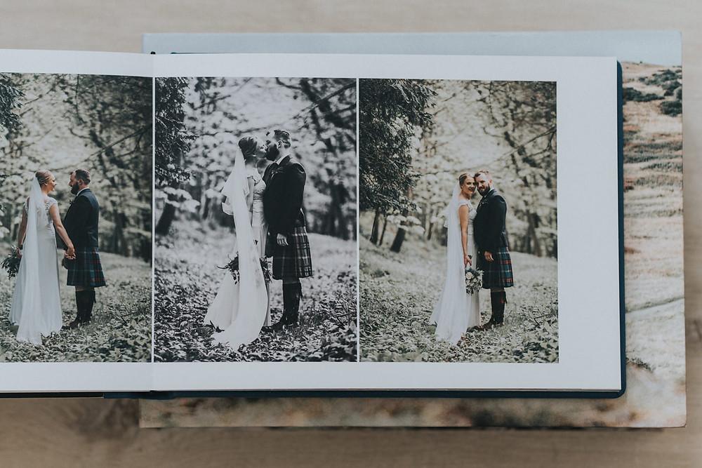 wedding albums, wedding photographer Edinburgh, Glasgow, Scotland, Karol Makula Photography