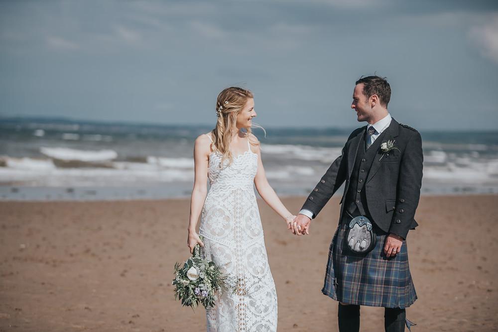 Portobello Beach, wedding photographer Edinburgh, Glasgow, Scotland, Karol Makula Photography