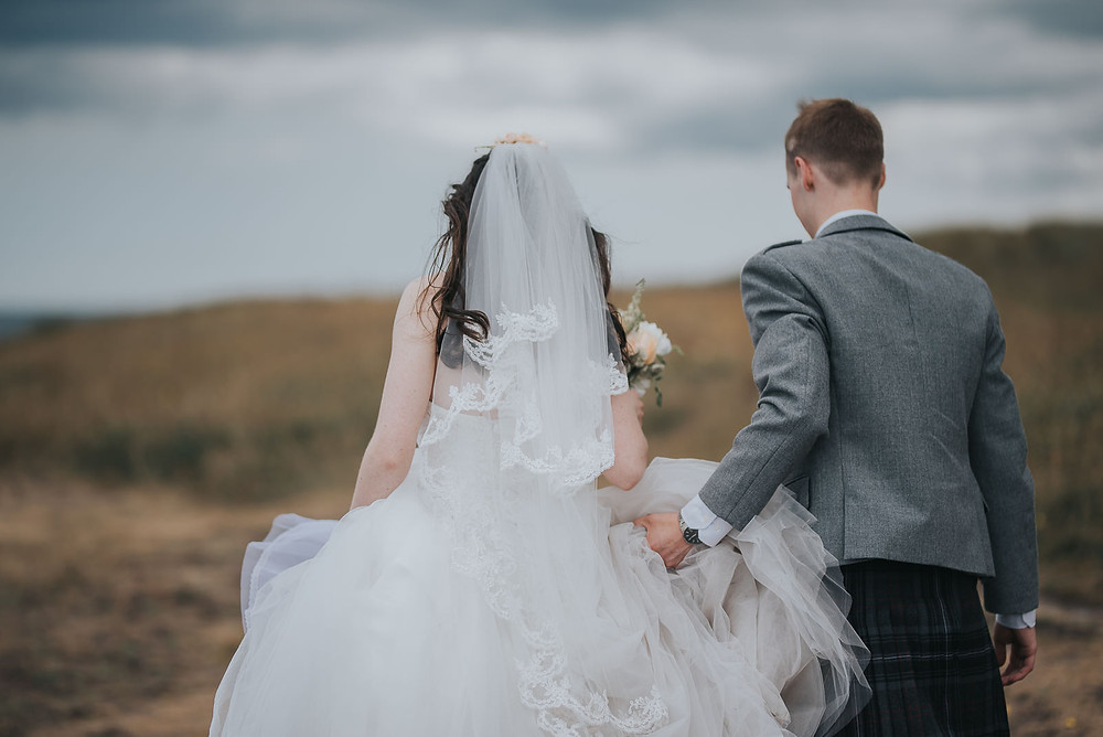 wedding photographer, photos, Charlotte Chapel, Tyninghame Beach, Karol Makula Photography