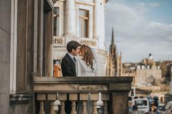 InterContinental Edinburgh the George wedding photos, wedding photographer Scotland