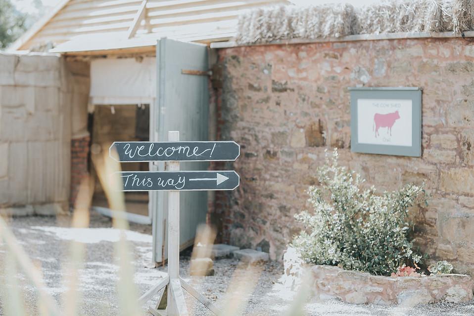 Konul & Jordan, The Cow Shed Crail, wedd