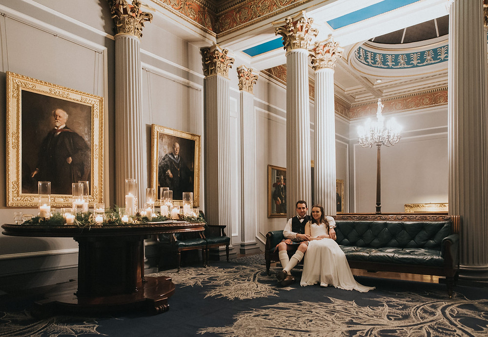 Signet Library, wedding photos, photographer, Edinburgh, Glasgow, Scotland, Karol Makula Photography