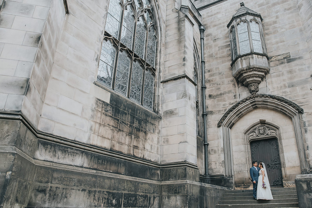 Roshin & Parth's sneak peek from their wedding at Edinburgh City Chambers