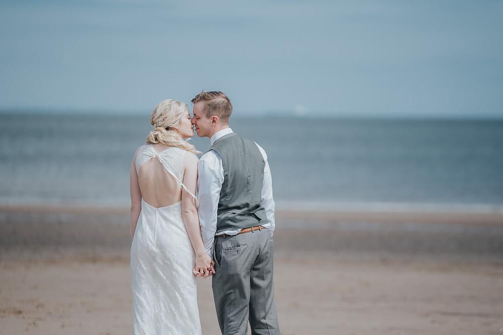 elopement, Saint Anthony's Chapel Ruins, Edinburgh, Scotland, Arthur's Seat, Portobello beach, Karol Makula Photography