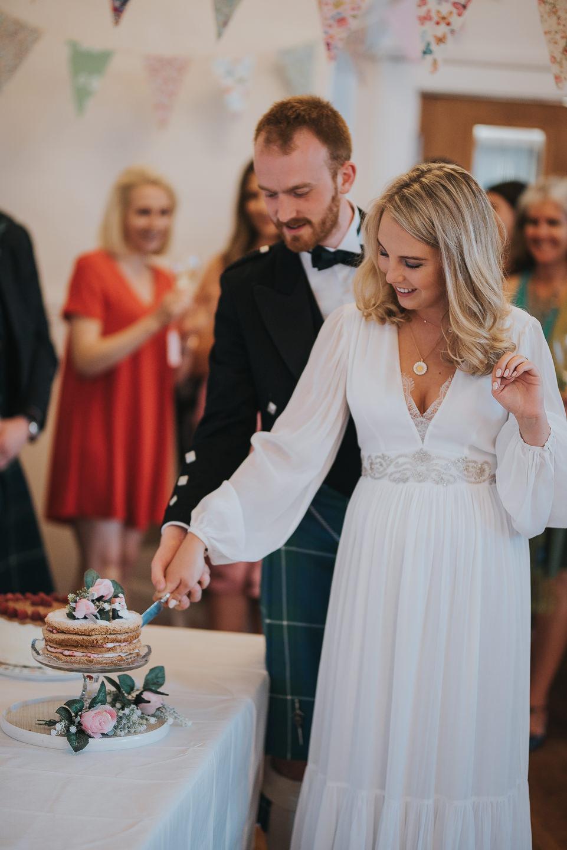 Hanne-Marry & Andrew sneak peek from their elopement at Edinburgh City Chambers and St. Columba's by the Castle, wedding photographer Edinburgh, Glasgow, Scotland, Karol Makula Photography