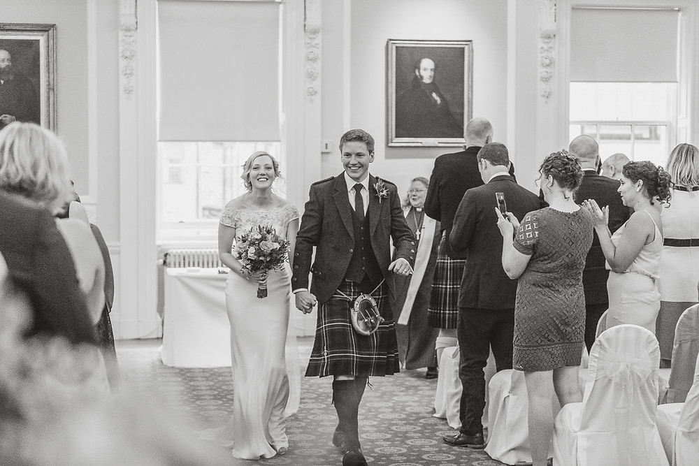 Surgeons' Hall, Edinburgh, Scotland, Karol Makula Photography, wedding photos, photographer