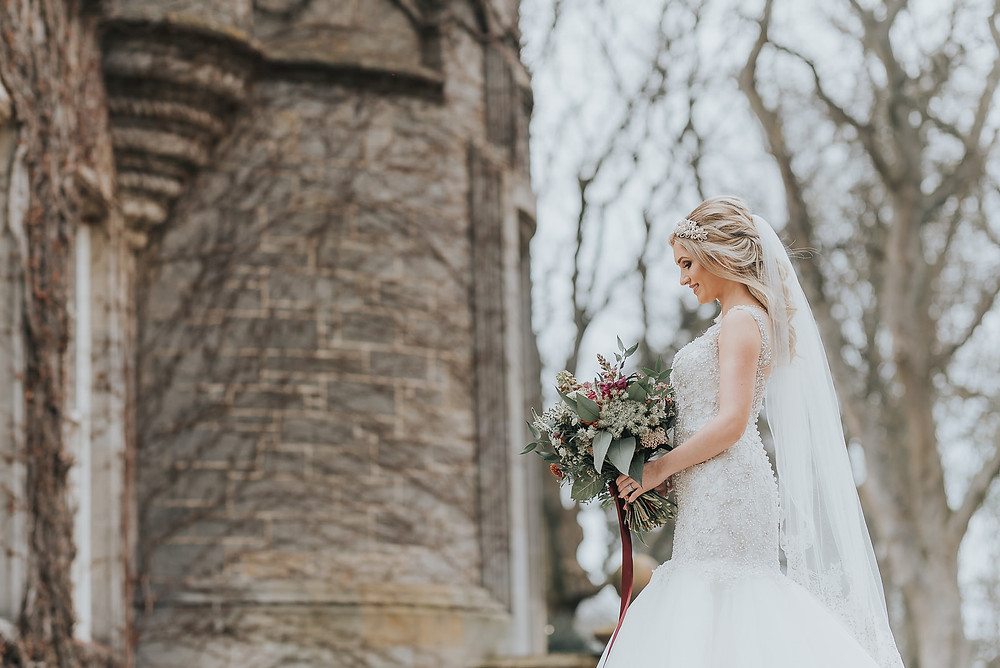 Styled wedding shoot at Carlowrie Castle in Edinburgh, Scotland, Karol Makula Photography