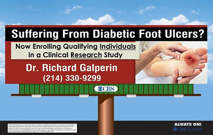 Diabetic Foot Ulcer Clinical Research Study
