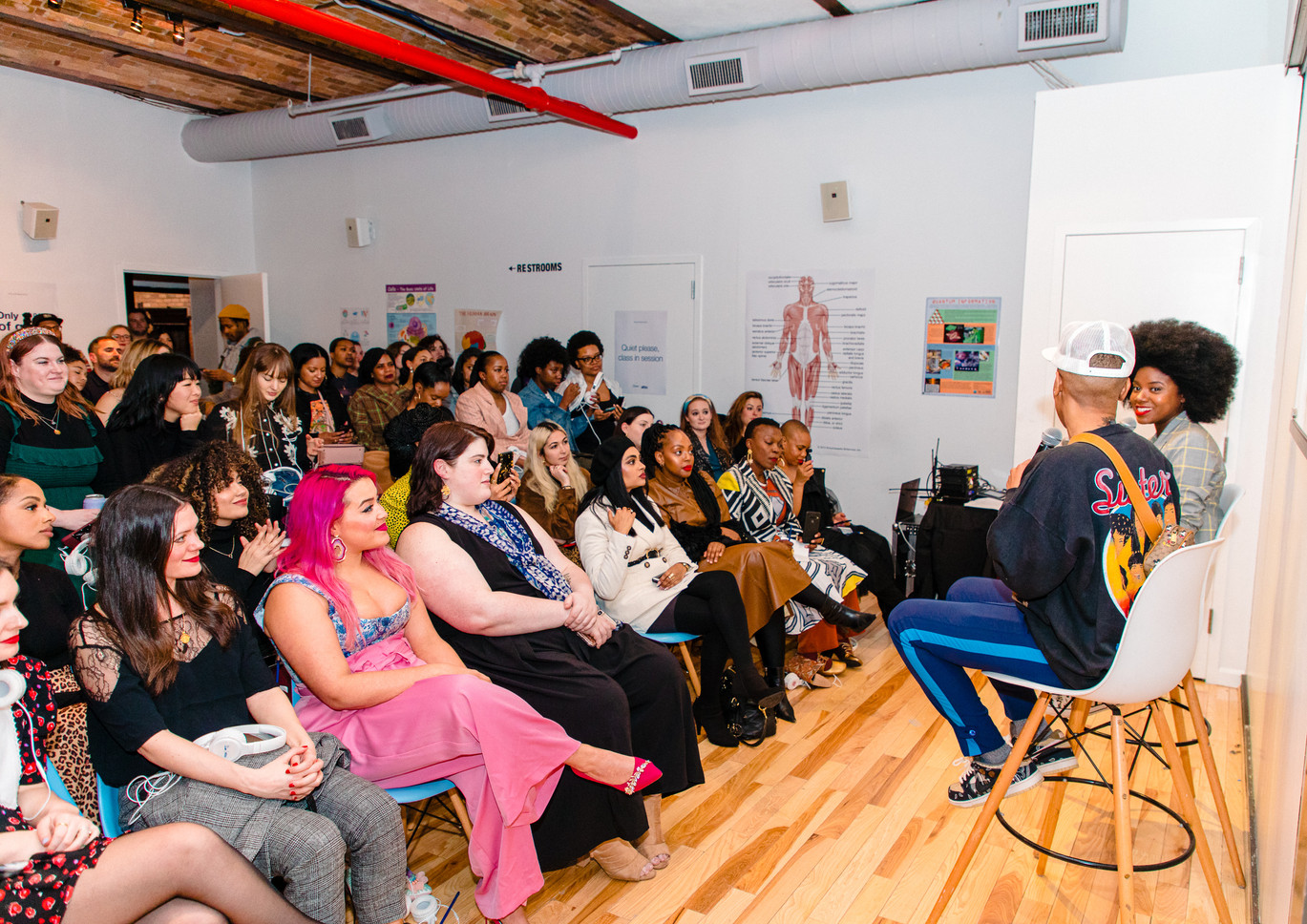 Fireside Chat: Brandy Gueary and Lena Waithe