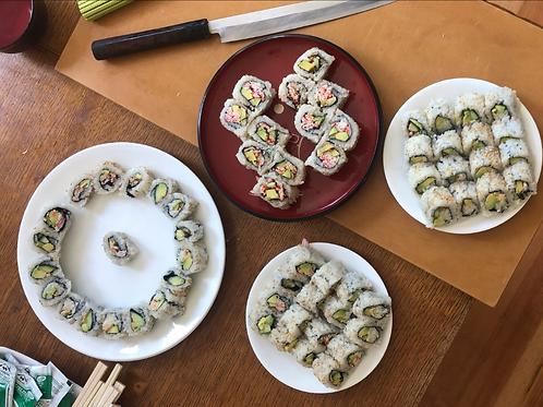 California Roll with Chef Taka Maezaki