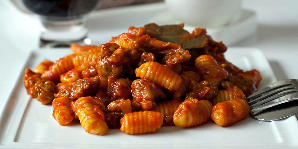 Maaaaalloredusu alla campidanese (Sardinian Gnocchi) with Chef Denis Dello Stritto