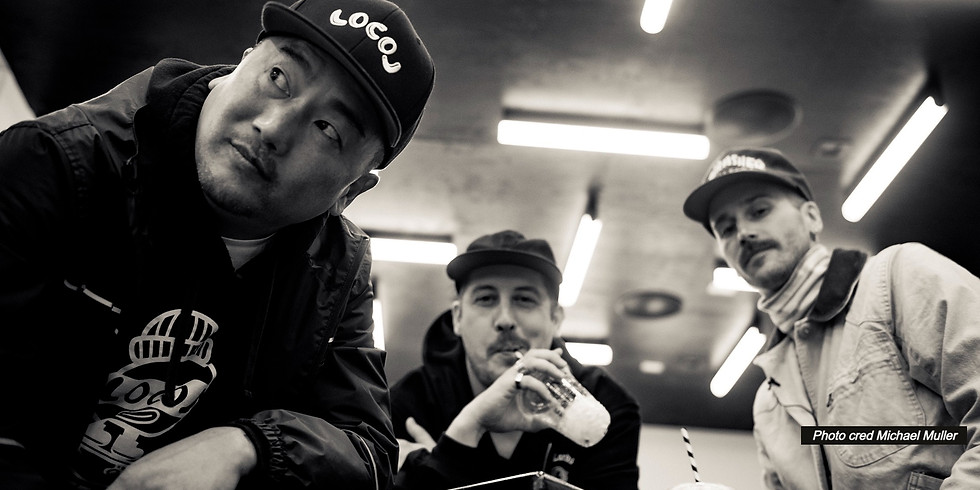 Kimchi Quesadillas with Roy Choi and Portugal. The Man