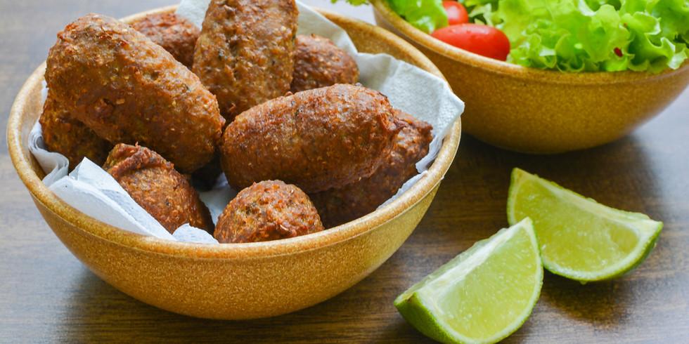 Caipirinha and Kibe Appetizer with Chef Natalia Pereira - Courtesy of Narrative Food