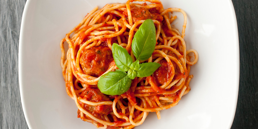 Virtual Speed Cooking: Spaghetti with Meatballs and Italian Spritz