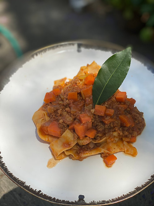 Tagliatelle al Ragu with Chef Denis Dello Stritto