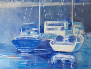 Morning Light James Watt Dock