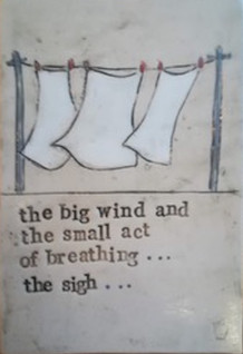 The Sigh, Poetry Plaque